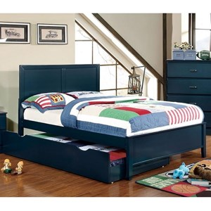 Full Transitional Bed with Trundle Unit