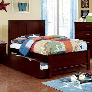 Twin Transitional Bed with Trundle Unit
