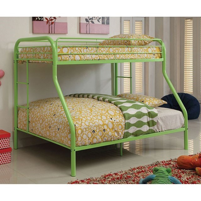 Rainbow Twin/Full Bunk Bed by Furniture of America at Nassau Furniture and Mattress