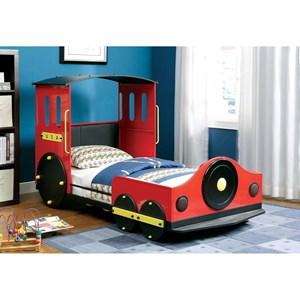 Twin Train Bed
