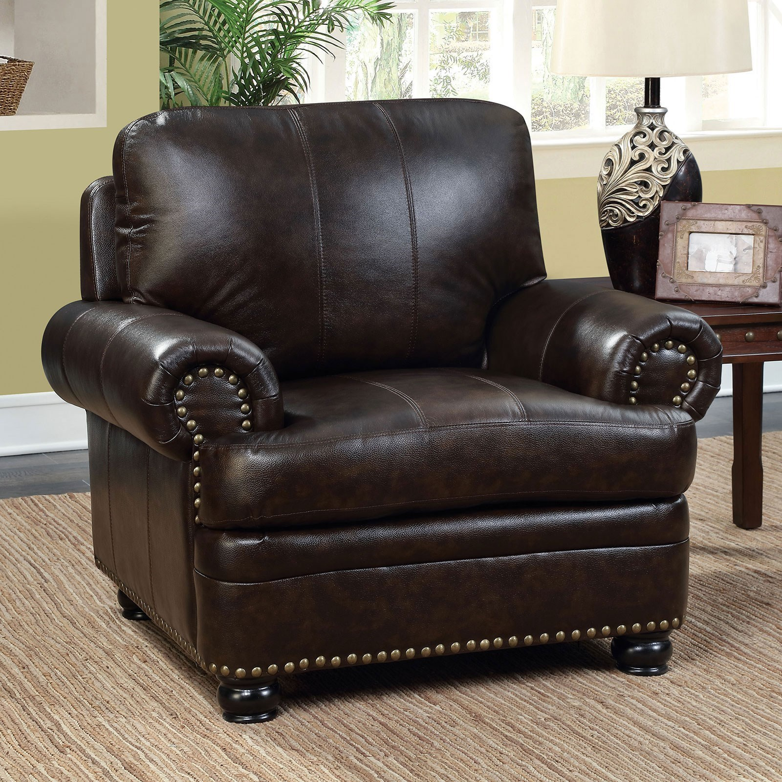 Rheinhardt Chair by Furniture of America at Dream Home Interiors