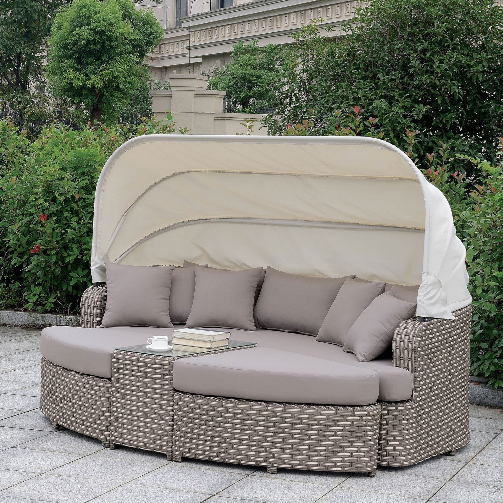 Riya 4pc. Patio Daybed at Household Furniture