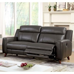 Reclining Two Cushion Sofa with USB Ports