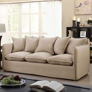 Vintage Sofa with Slipcover