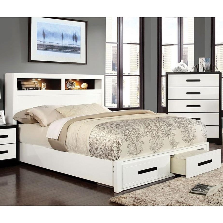 Rutger Queen Bed at Household Furniture