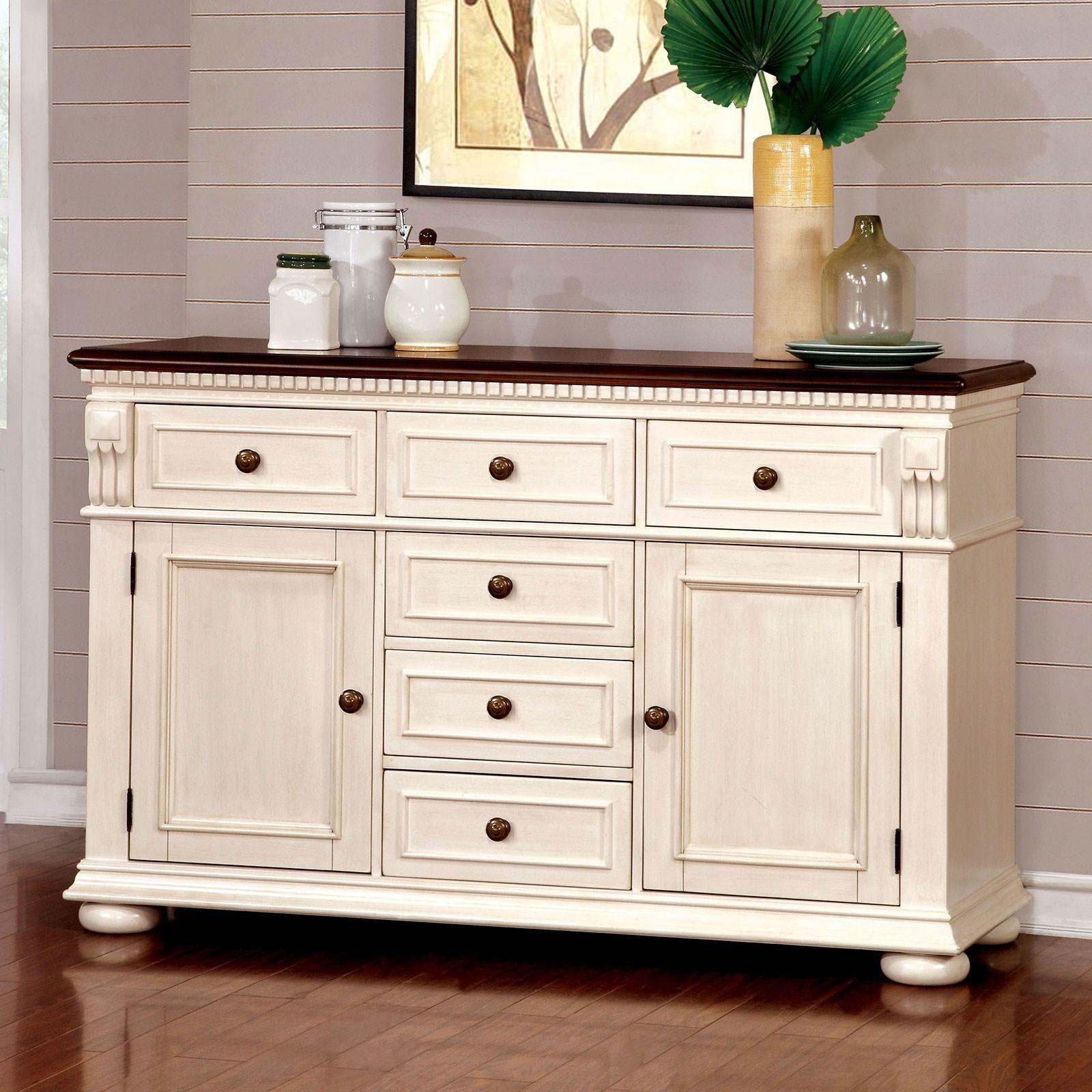 Sabrina Server by Furniture of America at Nassau Furniture and Mattress