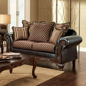 Traditional Love Seat