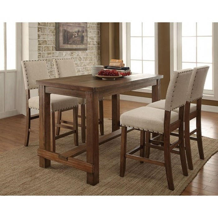 Sania 5 Piece Dining Set at Household Furniture