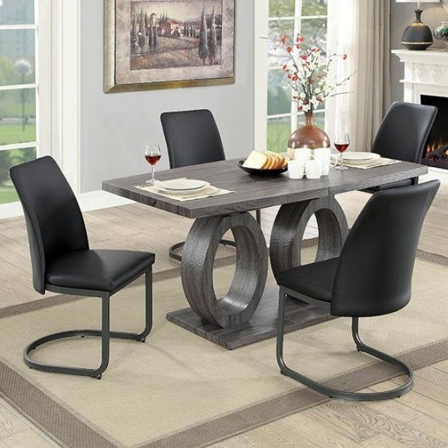 Saskia 5-Piece Dining Set at Household Furniture