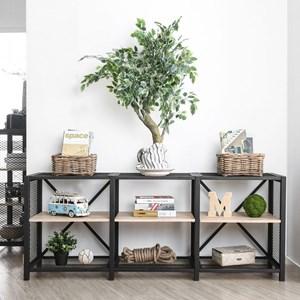 Industrial 2-Tier Shelf