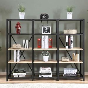 Industrial 4-Tier Shelf