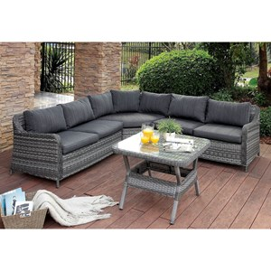 Patio Sectional w/ Table