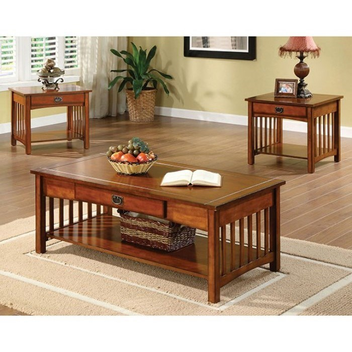 Seville 3 Pc. Table Set at Household Furniture
