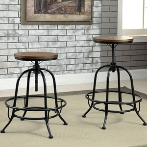 Set of 2 Counter Height Stools