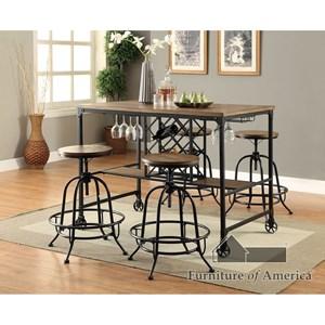 Table + 4 Stools
