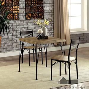 Three Piece Dining Room Set