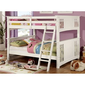 Full Over Full Youth Bedroom Bunk Bed