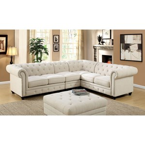 Sectional Leatherette