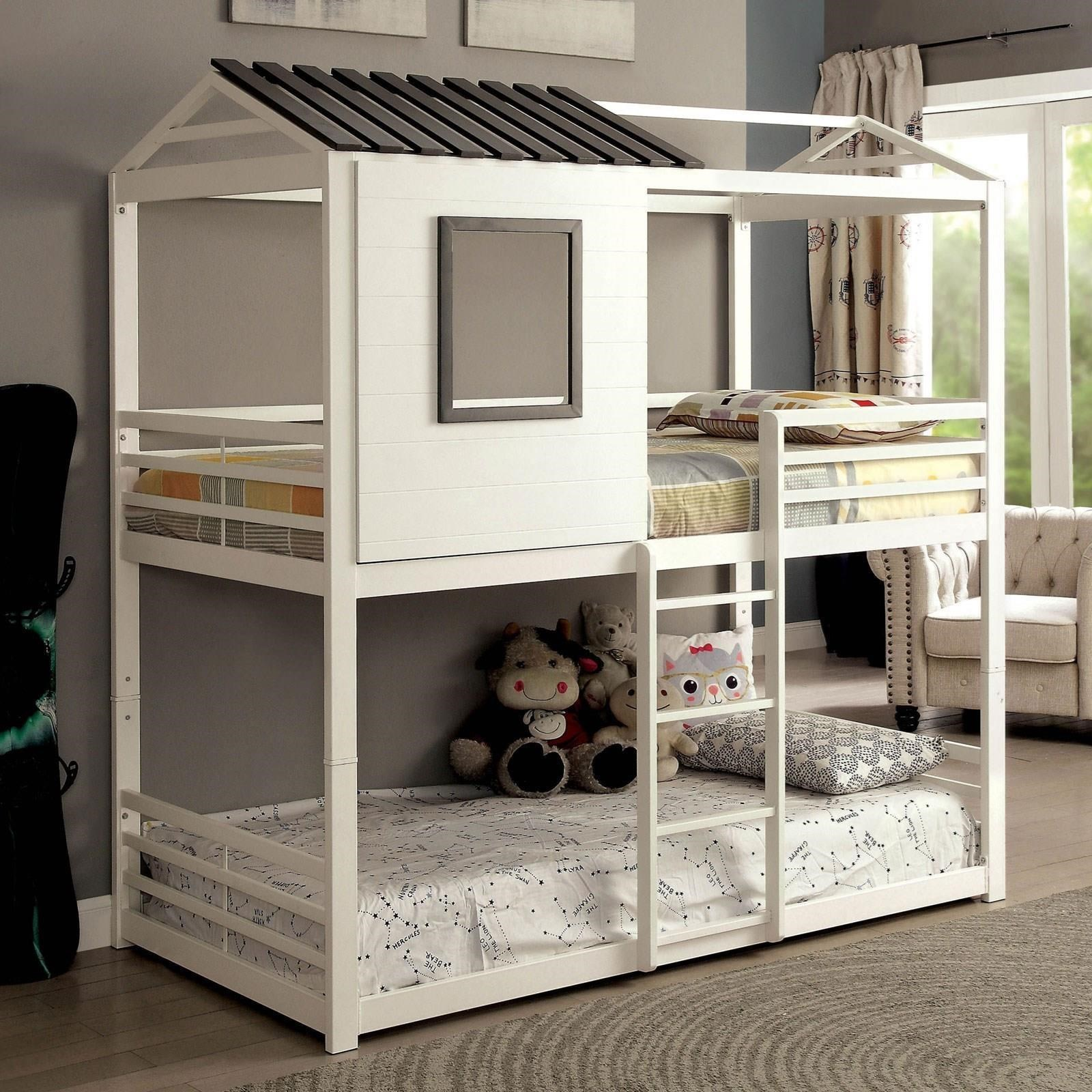 Stockholm Twin-over-Twin Bunk Bed at Household Furniture