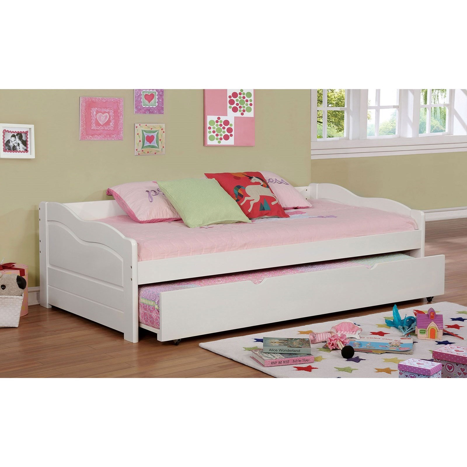Sunset Daybed with Trundle at Household Furniture
