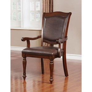 Pack of 2 Traditional Arm Chairs