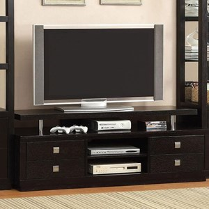 "66"" TV Console with Cord Access"