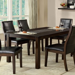 Mosaic-Insert Dining Table
