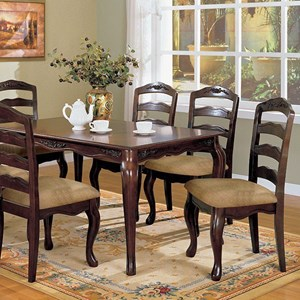7 Piece Dining Table & Chair Set