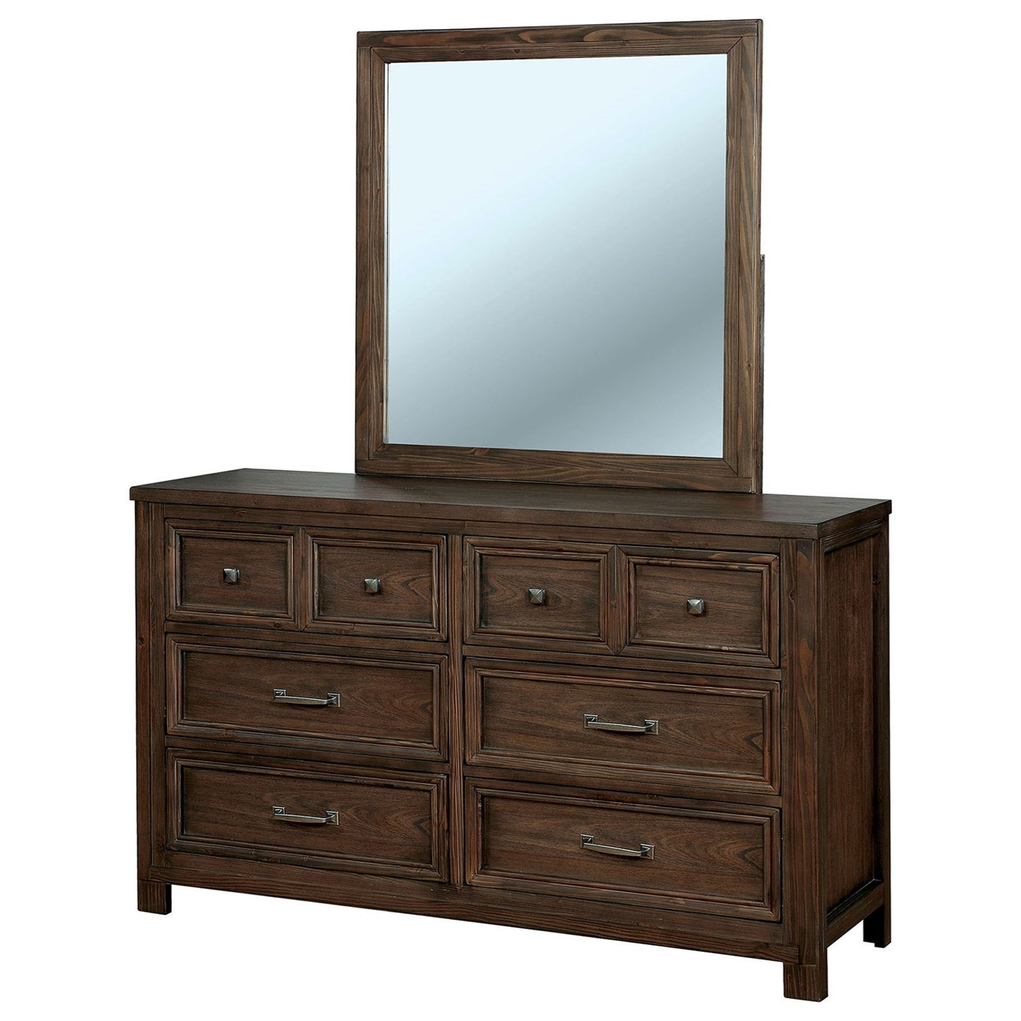 Tywyn Dresser and Mirror Combination at Household Furniture