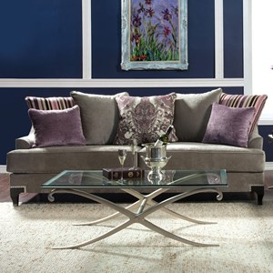 Transitional Sofa with Decorative Nailheads