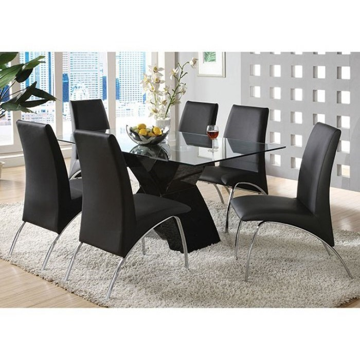 Wailoa 7 Piece Dining Set by Furniture of America - FOA at Del Sol Furniture