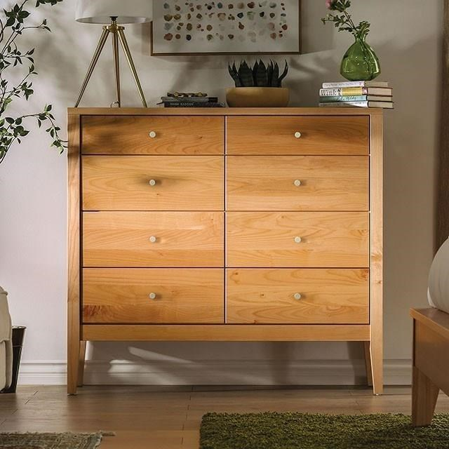 Willamette 8-Drawer Chest by Furniture of America at HomeWorld Furniture