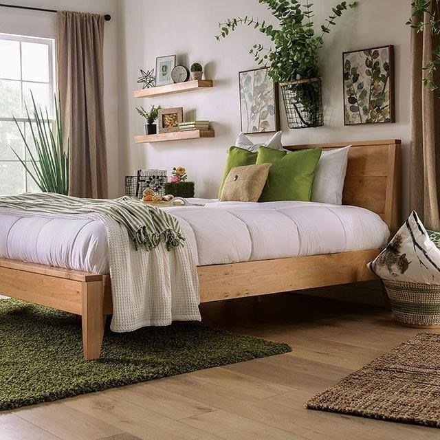 Willamette King Bed by Furniture of America at HomeWorld Furniture