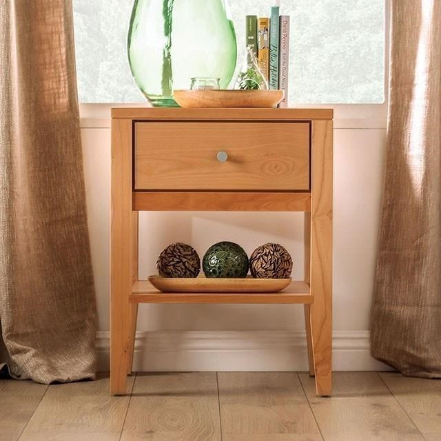 Willamette Nightstand  by Furniture of America at HomeWorld Furniture