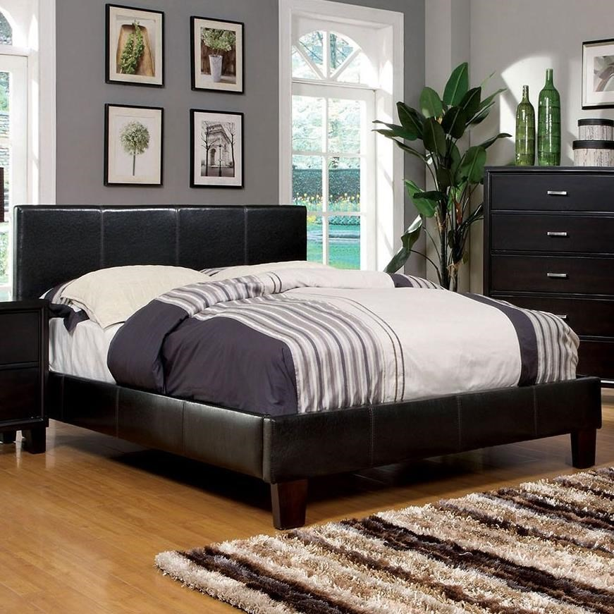 Winn Park Full Bed Upholstered Bed by Furniture of America at Corner Furniture