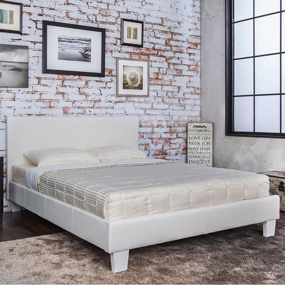 Winn Park Queen Upholstered Bed by Furniture of America at Sam Levitz Furniture