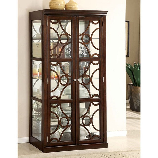 Woodmont Curio at Household Furniture