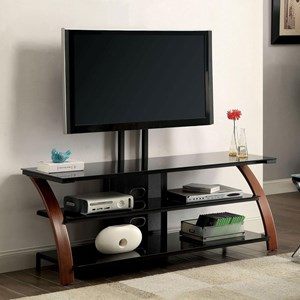 "60"" TV Console with Mounting Bracket"