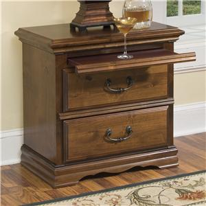 Furniture Traditions Alder Hill 2-Drawer Night Stand
