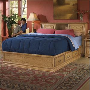 Furniture Traditions Master-Piece King Master-piece Headboard with Pedestal