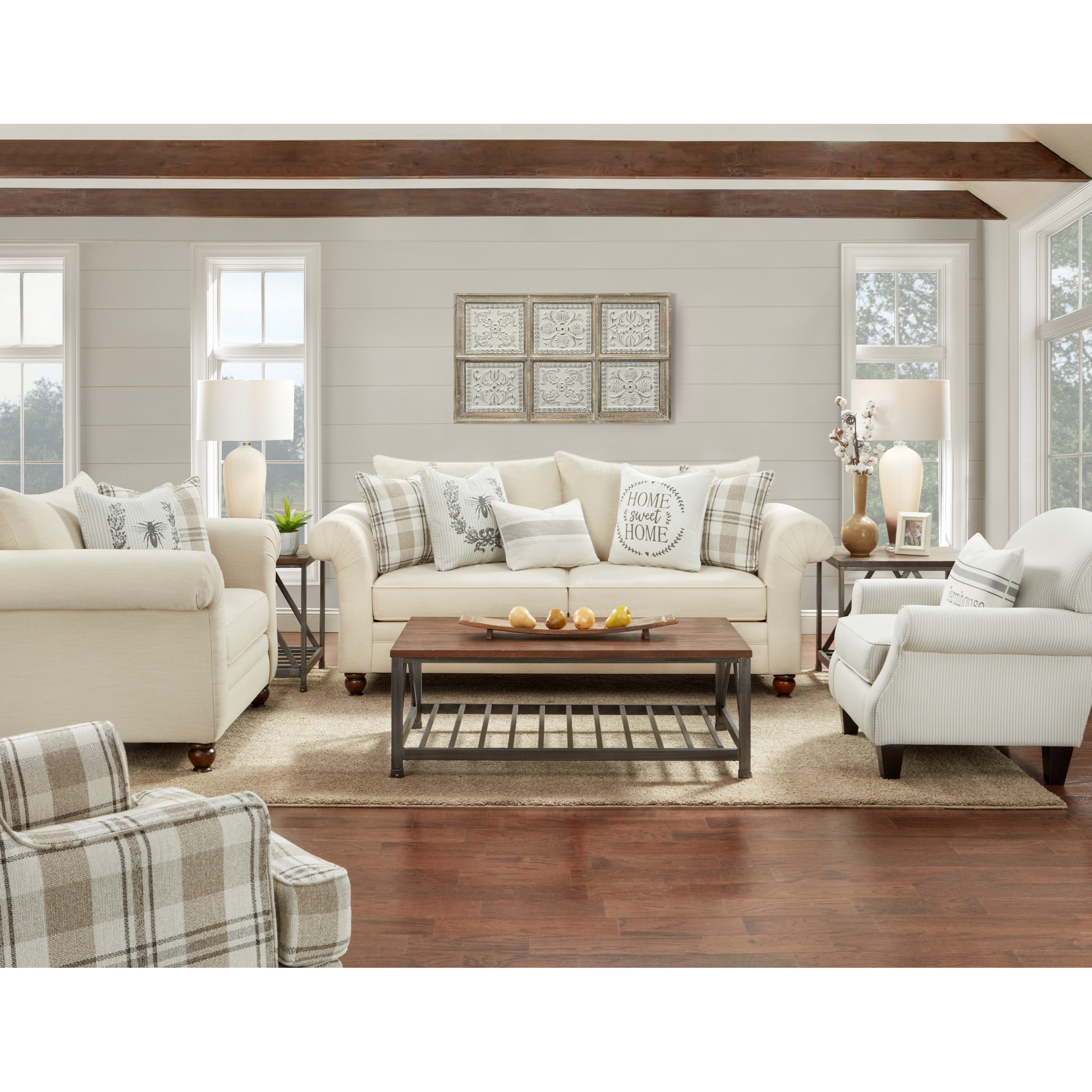 06-00 Living Room Group by Fusion Furniture at Prime Brothers Furniture