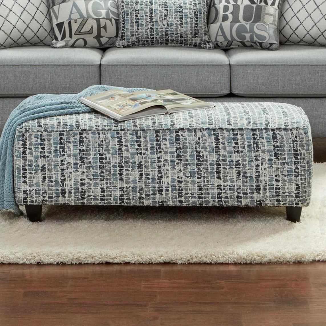 100 Ottoman by Fusion Furniture at Wilson's Furniture