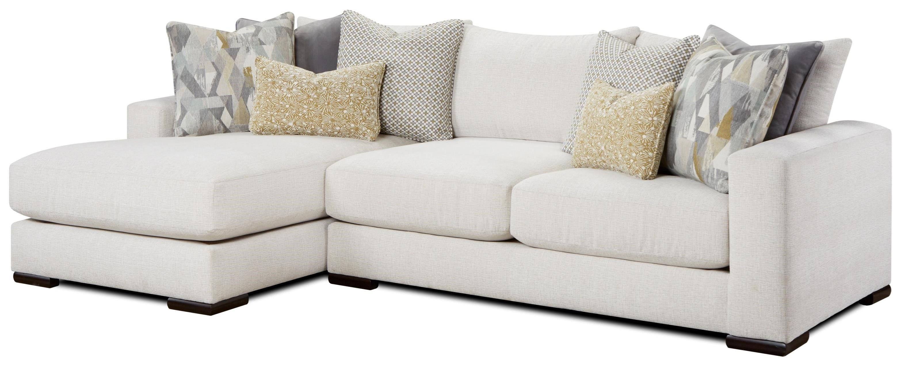 1050-20 2-Piece Sectional with Left Chaise by Fusion Furniture at Furniture Superstore - Rochester, MN
