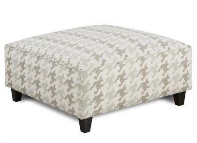 109 Square Ottoman by Fusion Furniture at Wilcox Furniture
