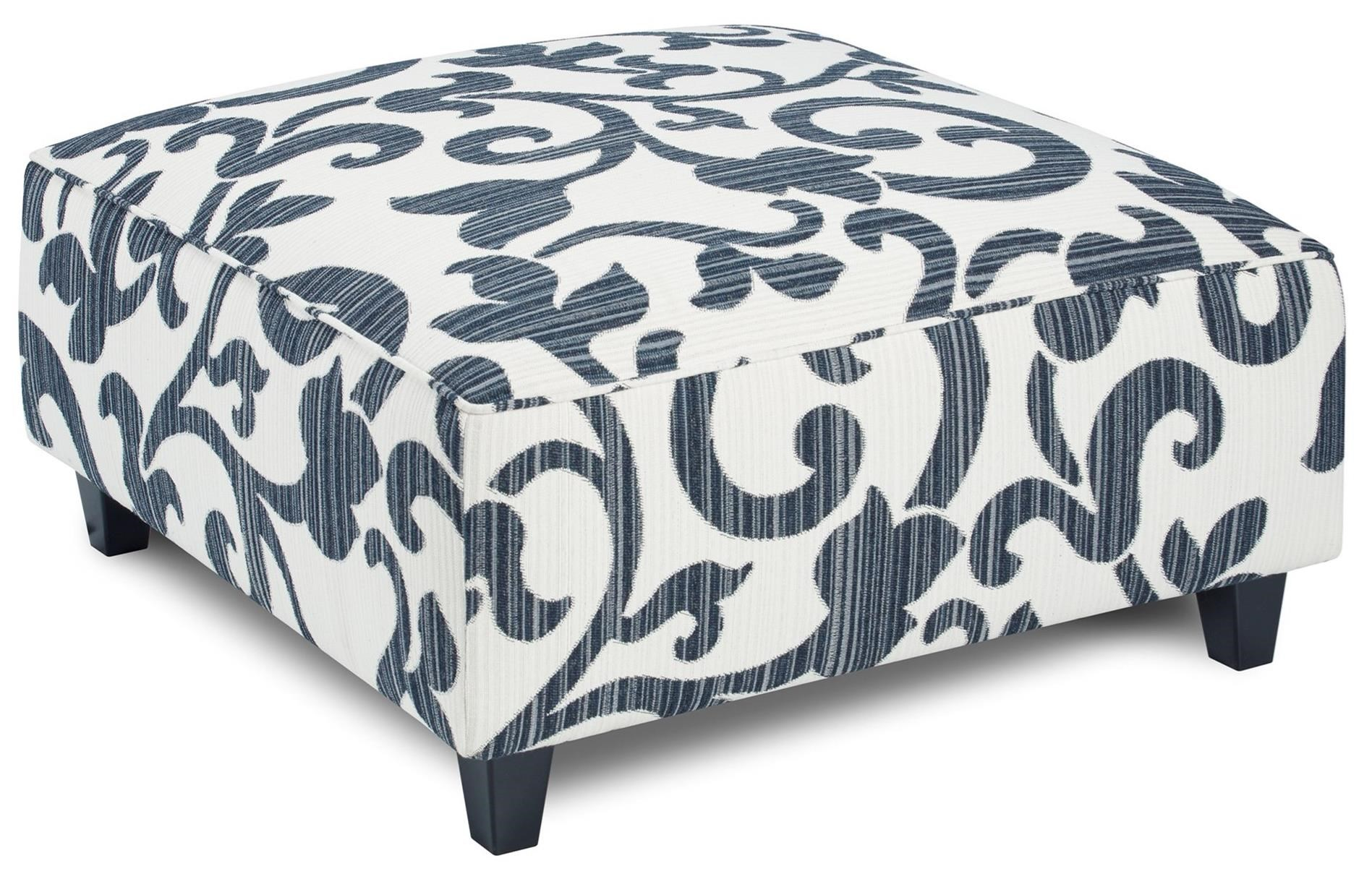 109 Square Ottoman by FN at Lindy's Furniture Company