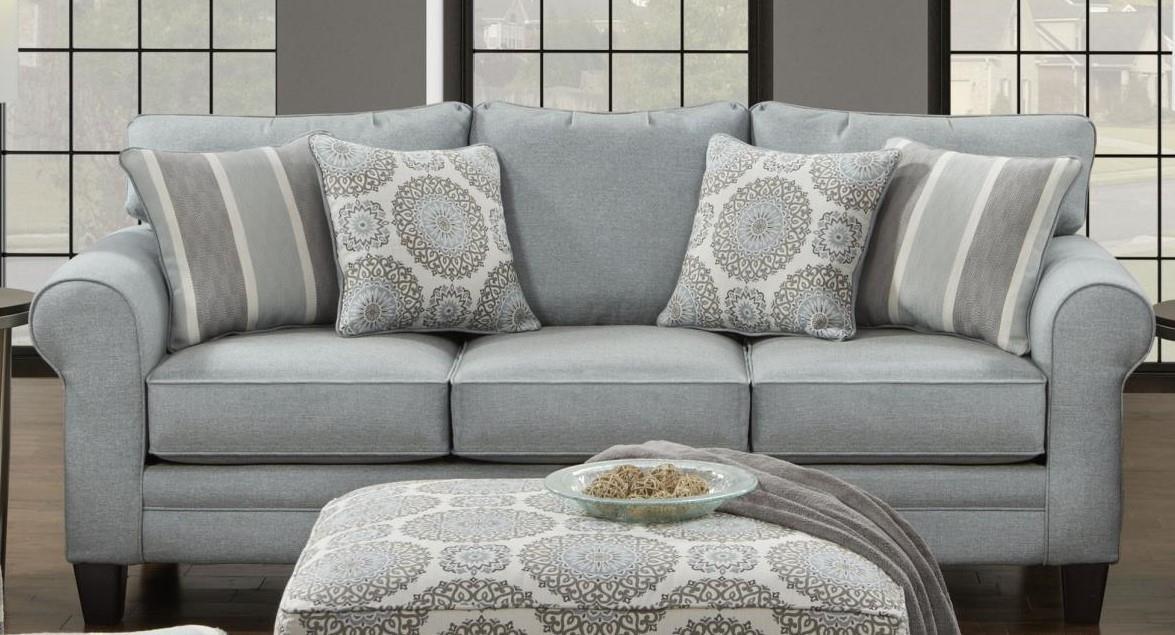 1140 Grande Mist Sofa by Fusion Furniture at Furniture Fair - North Carolina