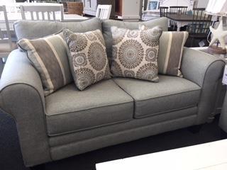 1140 Grande Mist Loveseat by Fusion Furniture at Furniture Fair - North Carolina