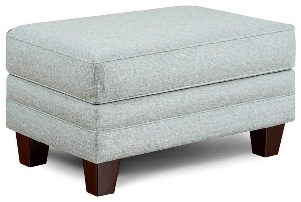 1140 Grande Mist 1143 Grande Mist Ottoman by Fusion Furniture at Furniture Fair - North Carolina