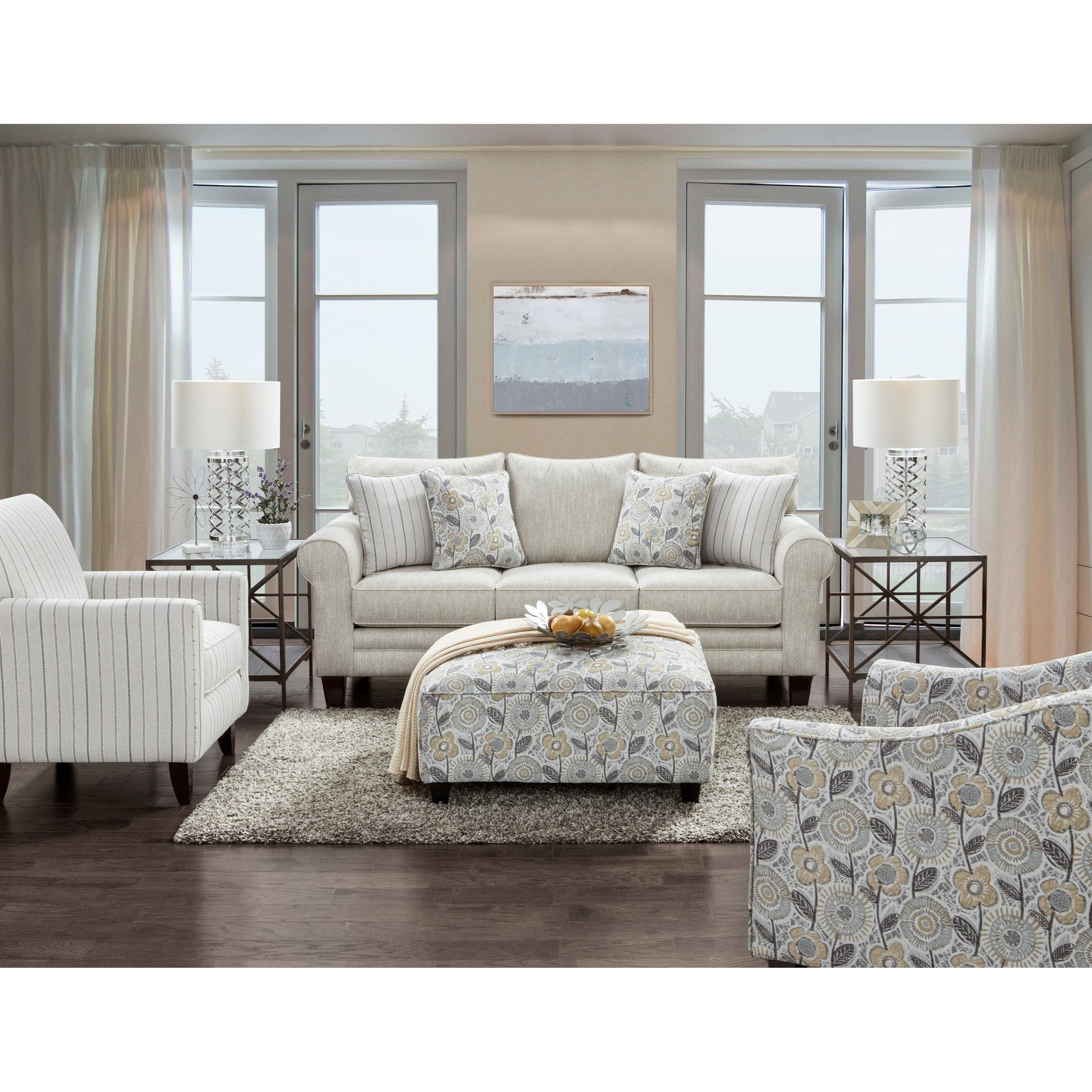 1140 Living Room Group by Fusion Furniture at Furniture Superstore - Rochester, MN