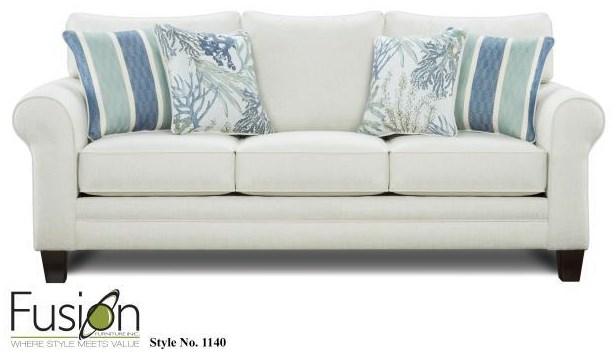 1140 1140 Glacier Sofa by Fusion Furniture at Furniture Fair - North Carolina